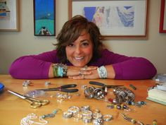 Reclaimed Silver Turned Into Breathtaking Jewelry   Artist Interview with Melissa Drake of Happy Go Licky