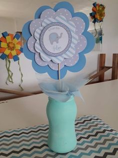 Ideas Bautismo, Baby Table, Baby Shawer, Lucca, Baby Elephant, Erika, Baby Boy Shower, Christening, Table Decorations