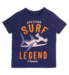 Fun Kids Nautical Tee | By Wendy Cooke