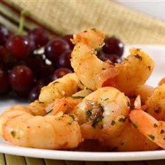 Sizzling Sherry Shrimp with Garlic Allrecipes.com
