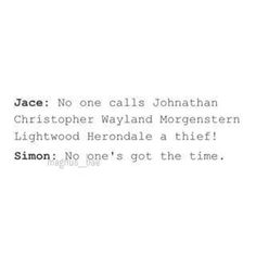 Jace is a jerk and Simon is an awesome vampire-geek what can i say Mortal Instruments Funny, Immortal Instruments, Shadowhunters The Mortal Instruments, Gabriella Wilde, Sophie Collins, Jenna Coleman, Clary Y Jace, Clary Fray, Jace Lightwood