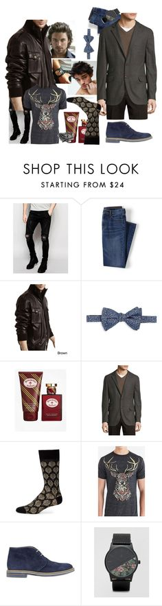 """""""Riot Ornate"""" by amanda-anda-panda ❤ liked on Polyvore featuring Pathfinder, Sik Silk, Lands' End, Tanners Avenue, Saks Fifth Avenue Collection, Brooks Brothers, Brunello Cucinelli, Marcoliani, Riot Society and Brimarts"""