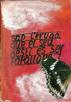 art journal - papallona
