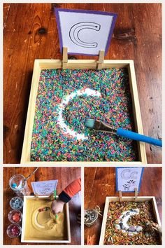Sensory Tablet Prompts: Letters and Start Sound . - Bildungsniveau - Sensory Tablet Prompts: Letters and Start Sound Informations About Sensory Tablet Prompts: Letters a - Fun Writing Activities, Preschool Writing, Preschool Learning Activities, Alphabet Activities, Preschool Classroom, Preschool Activities, Kids Learning, Learning Games, Preschool Themes By Month