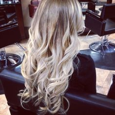 extensions and blonde ombre - YES YES YES