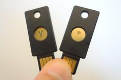 Security keys offer a more secure alternative to code-based two-factor authentication.