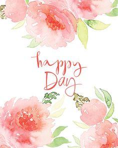 Acuarela tarjeta de felicitación de las flores. - ilustración de arte vectorial