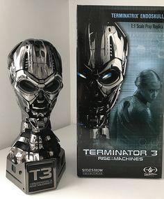 Sideshow Collectibles 1:1 Terminator 3 Terminatrix Endoskeleton Endoskull
