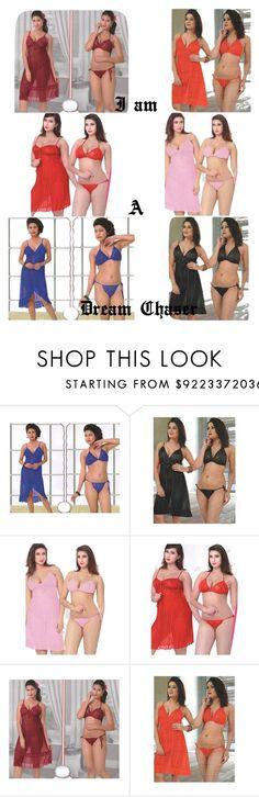 LINGERIE SET FOR WOMEN SEX by lavanyas-trendzs on Polyvore featuring bedroom  http://www.polyvore.com/cgi/set?id=207664396  #sexynighty  #sleepwear #bedroomnighty #honeymoonighty #nightwear  #indiatrendzs #3pcset