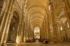 Sainte-Madeleine de Vézelay, Borgoña