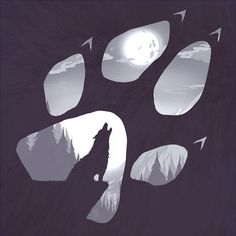 wolf paw drawing - Google Search