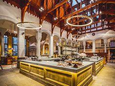 JSPR Aura gold edition at Hotel Post-Plaza in Leeuwarden, Netherlands Plaza Hotel, Beautiful Hotels, Grand Hotel, Valencia, Lighting Design, Interior Architecture, Interior Design, Trip Advisor, Mansions