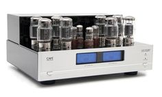 Cary Audio Design - CAD 120S MKII - Push Pull Tube Amp has XLR balanced interconnect - expensive - used is almost doable.