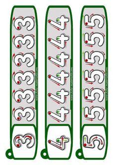 Llavero para trabajar la Grafomotricidad - Imagenes Educativas Montessori Math, Preschool Math, Toddler Learning Activities, Preschool Activities, Printable Preschool Worksheets, Kindergarten Worksheets, Free Printable, Pre Writing, Math For Kids