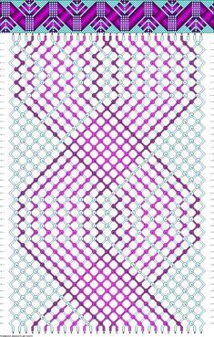 Muster # 65275, Streicher: 30 Zeilen: 44 Farben: 5