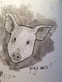 Pig's ear