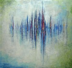 Stefan Geissbuhler - Midsummer Sonata - 36 x 34 - Acrylic