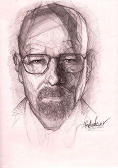 #Draw #sketch #breaking bad #pencil #art