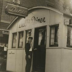 The Delhi Diner (Delhi, New York), which measured in at 12.5′ x 48′, was gutted and re-fitted with a new formica counter and all new equipment in 1938. The owner attempted to sell the diner in 1957, for $90,000 with the intention of having it moved from the site.  By 1963, the diner business had been moved to the storefront directly next door at 95 Main Street, an address at which it still operates. The diner building still stands, heavily remodeled.
