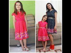 costura vestido infantil