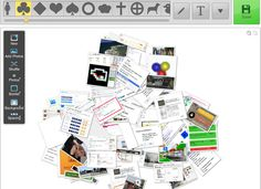 ICT-vijver : Fotocollages maken en een foto zoek spel.