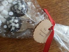 Yummy hot chocolate spoons.  Great little cheap gift or stocking filler.