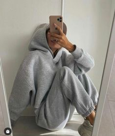 Chill Outfits, Cute Comfy Outfits, Mode Outfits, Trendy Outfits, Fashion Outfits, Womens Fashion, Mode Ootd, Mode Hijab, Winter Fits