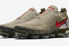 Release Date: Nike Air VaporMax Moc 2 Neutral Olive           The Nike Air VaporMax Moc 2 is an updated version of the popular VaporMax silhouette this spring and its most striking feature is its lacel... https://drwong.live/sneakers/nike-air-vapormax-moc-2-neutral-olive-release-date/ Shoes Too Big, Hot Shoes, Dope Music, Nike Lunar, Mens Trainers, Sneaker Games, Athleisure, Kobe, Hypebeast