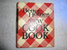 VINTAGE CLASSIC 1978 6TH PRINTING BETTER HOMES & GARDENS NEW COOKBOOK RECIPE