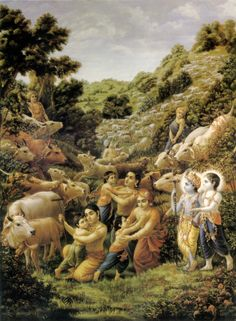 "krishnas-temple-of-bliss: "" ~Vrindavan~ """