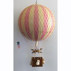 Royal Aero luftballong, rosa i gruppen Inredningsdetaljer / Dekoration / Träfigurer & Skulpturer hos RUM21.se (132322)