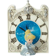 Precious Moments® Midnight Magic Disney Cinderella Clock - Wall Decor - Hallmark