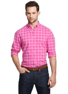 Gingham Sport Shirt Style: 1112 | Men's fashion, Man outfit and ...