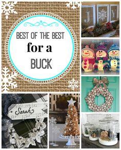 best of the best for a buck. #dollartree #seasonal decorating ideas