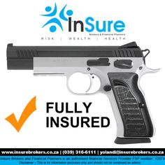 INsure your fire arms #ShortTermInsurance http://bit.ly/1P3NuHg