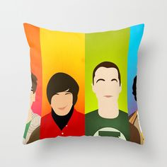 The Big Bang Theory Throw Pillow