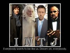 So I'm an INTJ. That's pretty rare for a woman - apparently only 0.8% of women are INTJ. I rock it like Sherlock lol.