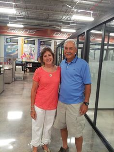 Thomas Mitrakos & Michele Yuskiewicz stopped by the office! #southeastpublications