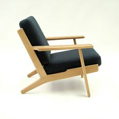 Hans Wegner - Plank Chair Not my ideal colour for upholstery Oak Soap Washed