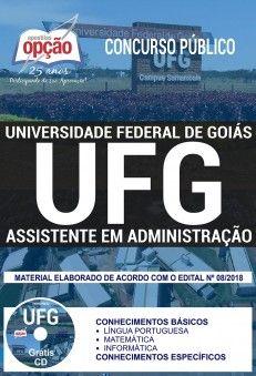 Nova Apostila Concurso Ufg 2018 Assistente Em Administracao