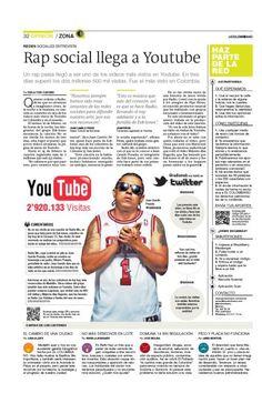 Rap social llega a Youtube