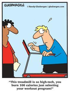 High Tech Treadmill