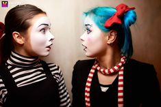 Event Id, Cute Clown, Enemies, Goth, Female, Makeup, Photos, Cucumber, Gothic