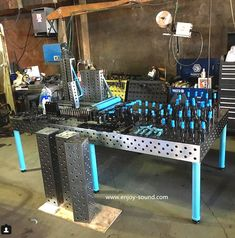 DCT welding and jig tables are made for extreme duty metal fabrication. Built to last a lifetime and beyond, these tables are constructed with an extremely rigid and flat, five-sided top surface. Learn more at www.enjoy-sound.com