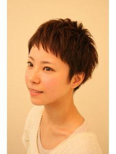 Pin on i love short hair Short Pixie, Short Cuts, Pixie Cut, Salon Style, Short Styles, About Hair, Hair Pins, My Hair, Asian Girl