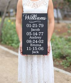 Personalized Family Birthday Wall Sign (NVMHDA1540)