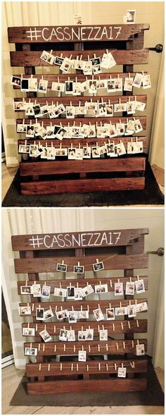 This wood pallet project is eventually taken as best to use as the decoration piece for your living room beauty. This is a modish recycling of the wall picture frames. You can arrange this creation for your living room where you can hang some memorable pictures with your friends. It do involve the arrangement of the planks of wood pallet in vertical concepts.
