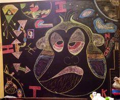 My chalk art