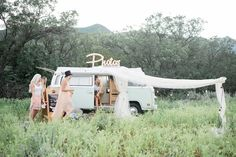 Photo Booth Rental, Inside a VW BUS! Based in Utah. Traveling And Serving ALL West Coast States.     The most unique photo booth available. She's our little social butterfly. Born in 1977, she's been cooped up for way too long and ready to meet some friends with her new photo booth.