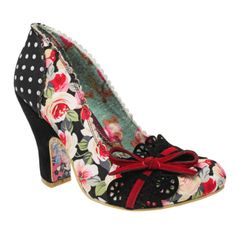 Irregular Choice - MAKE MY DAY - I have these ones but in a gold & black /dark brown pattern. They are GORGEOUS!
